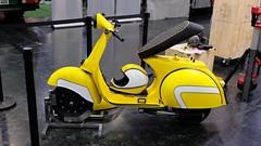 MotoTechnica 2019 (Sanseira) Tags: oldtimer motorräder ersatzteile messe augsburg mototechnica 2019 vespa gelb