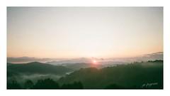 Carolina Magic (GR167) Tags: analog film c41 canonfilm llens portra eos3 panorama nc dawn sunrise mountains