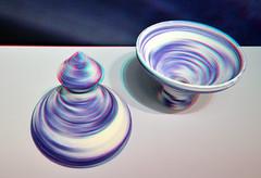 ARCANIUM by Olivier van Herpt 3D (wim hoppenbrouwers) Tags: arcanium oliviervanherpt 3d anaglyph stereo redcyan gemeentemuseum denhaag ötteru ceramics pottery