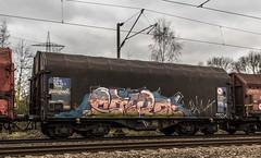 39_2019_01_16_Gelsenkirchen_Bismarck_6185_158_DB_mit_Coilzug ➡️ Herne_Abzw_Crange (ruhrpott.sprinter) Tags: ruhrpott sprinter deutschland germany allmangne nrw ruhrgebiet gelsenkirchen lokomotive locomotives eisenbahn railroad rail zug train reisezug passenger güter cargo freight fret bismarck bottropsüd ctd captrain db hctor hhpi 0632 1266 1232 1261 6152 6185 6187 6241 class66 vtgch rb42 hochspannungsmast kraftwerk herne dorsten dortmund logo natur outdoor graffiti