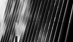 / / / the lamp / / / (christikren) Tags: austria blackwhite building christikren facade geometry lines monochrome light lamp wall structures again linz architecture abstract bw antonbrucknerprivatuniversität