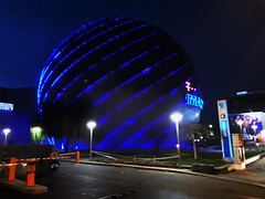 Afi Palace Cotroceni (puncte.puncte13) Tags: mall afi ball blue colors night bucharest bucuresti romania