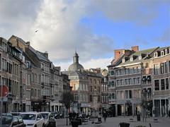 Place de l'Ange, Namur, Belgium (Paul McClure DC) Tags: namur namen belgium belgique wallonia wallonie ardennes feb2018 church historic architecture