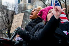 Women'sMarch2019-4(NYC) (bigbuddy1988) Tags: people portrait photography nikon d610 sb 600 strobe flash nyc usa art new digital city manhattan newyork womensmarch protest