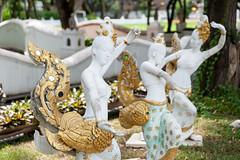 Graceful Kinnaree (SLpixeLS) Tags: thailand dara devi hotel chiangmai statue กินรี lady bird kinnaree kinnari kinnara thai art folklore halfmaiden halfbird halfangel woman