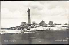 Postkort fra Agder (Avtrykket) Tags: bolighus fyrtårn holme hus postkort sjø uthus vinter øy arendal austagder norway nor