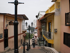Guayaquil, Ecuador (domolina) Tags: guayaquil ecuador las penas peñas stairs escalinata