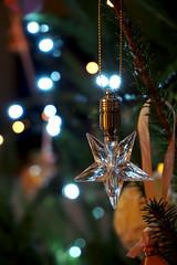 A Star on my Christmas Tree (safonova.alex) Tags: flickrfriday stars christmas macro bokeh smileonsaturday wishuponastar holiday macromondays