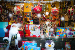 Toy Shop at Christmas (judy dean) Tags: december18 judydean games multicolora toys christmas decorations smileonsaturday toyshop 2019 santa multicoloured