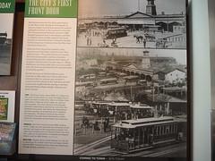 P9193021 (bentchristensen14) Tags: usa unitedstatesofamerica california sanfrancisco sanfranciscorailwaymuseum museum tram steuartstreet