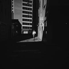 54:365:2019 (@mich.robinson) Tags: michellerobinson adelaide southaustralia australia photography photographer visualartist project365 bw blackwhitephotography squareformat 11 streetphotography streetphotographer street streetlife life people documentary dailylife man shadows angles citylife