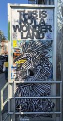This is Not a Wonderland by Dede Bandaid (wiredforlego) Tags: streetart urbanart publicart graffiti williamsburg brooklyn newyork nyc pasteup wheatpaste illegalart dedebandaid