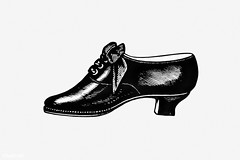 Vintage shoe illustration (Free Public Domain Illustrations by rawpixel) Tags: antique art arts artwork black blackandwhite cc0 creativecommons0 decor decorative drawing element engraved engraving fineart graphic graphite heel heeled historic historical history illustration ink isolatedonwhite leather name one painting pencil publicdomain retro shoe shoes side sketch sketching victorian vintage whitebackground