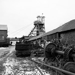 Big Pit on a snowy day thumbnail