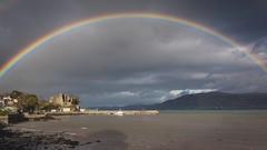 DSC_0114 (<MariuszB>) Tags: rain rainbow bow nikon d5600 sigma 28 ireland carlingford