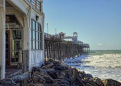Pier 2-6-1-21-19 (rod1691) Tags: oceanside california pier ocean sea beach rocks