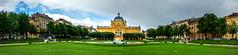 Art Pavilion - Zagreb, Croatia. (Russell Scott Images) Tags: artpavilion fountain fontanakraljatomislava zagreb croatia