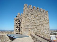 Castelo de Castelo Branco - Torre do Palácio dos Alcaides 01 (Sofia Barão) Tags: portugal castelo branco beira baixa castle