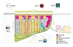 500 kirkham - site plan (citymaus) Tags: oakland 7th west bar 500 kirkham union 5th development future bart tod mixed use panoramic interests developer site plan