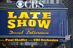 CBS Late Show (afagen) Tags: newyork newyorkcity ny nyc manhattan broadway edsullivantheater theater marquee lateshowwithdavidletterman lateshow cbs