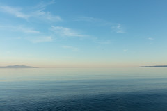Island View (josullivan.59) Tags: 2018 artistic bc britishcolumbia canada island vancouverisland abstract blue clear day evening landscape minimalism nature nicelight ocean outdoor outside ripples sea sky texture wallpaper water weather