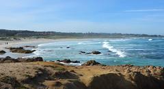 The bay beyond Asilomar (afagen) Tags: california pacificgrove asilomarstatebeach montereypeninsula asilomar beach pacificocean ocean