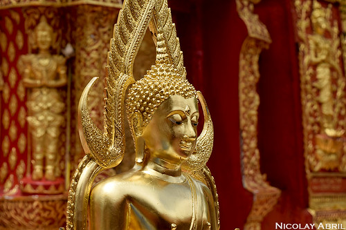Golden Buddha at Wat Phra That Doi Suthep
