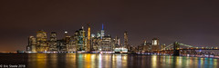 NYC @ Night (Eric Steele Photography) Tags: nyc manhattan cityscape newyorkcity nightscape nighttime night reflection water longexposure scenic nikon d7200 ericsteele photography