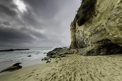 Before the storm, Pirate Tower in the city of Laguna Beach, California (ttchao) Tags: california lagunabeach piratetower victoriabeach nikon d810 samyang 12mm storm beach