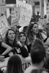 GirlCollective(7) (RICHARD OSTROM) Tags: monochrome madrid march mass street spain rally rage rights real recall soul hope this well bold battle brutal bro bigg 2018 dslr nerds crowds