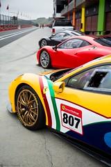 Triple trouble (Richard Nico) Tags: ferrari 458gt3 458 ferrari458 gt3 v8 supercar sportcar racecar exotic luxury motorsport motorracing car trackday automobile automotive photography ferrarichallenge