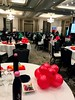 Lord & Taylor University (PartiLife) Tags: red blue green metallicred metallicblue metallicgreen centerpieces corporateevent glitterletters