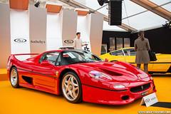 Rétromobile vente RM Auction 2016 - Ferrari F50 - 1997 (Deux-Chevrons.com) Tags: ferrari f50 ferrarif50 voiture car coche auto automobile automotive paris france auction enchère rmauctions rmauction rmsothebys supercar supercars sportcar gt exotic exotics