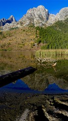 Reflection - Grand Teton (jennbastian) Tags: wyoming grandteton nationalparks nature mountains reflection landscape