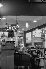 dinner alone scene (31lucass shots) Tags: minoltax700 ilfordfilm 黑白菲林 minoltaafs shootfilm blackandwhitefilm filmportrait filmphotography snapshot minoltafilm myminolta bnwfilm streetstyle ishootfilm analoguefilm 35mmfilm grainisgood filmisnotdead ilfordhp5plus400 hp5plus400 singaporeimages singapore streetsnap