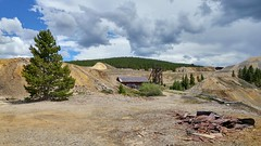 Mining Ruins along Route of the Silver Kings, Leadville, CO 2 (17) (chfstew) Tags: chfstew colorado colakecounty ruins