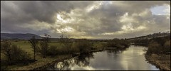River Earn Forteviot (ronniefleming@btinternet.com) Tags: riverearn forteviot trees riverbank perthshire strathearn dunning perth goldenhour scottishlandscapes ph31fy ronniefleming stormclouds blueskiesabove reflections nakedtrees winter2019 ochils craigrossi outside light