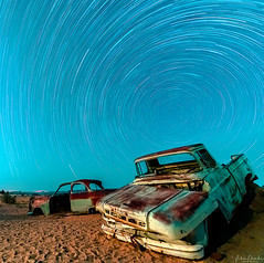 Solitaire Star Trails (vikaschanderastrophotography) Tags: namibia astrophotography solitaire startrails