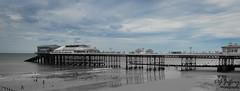 Cromer Pier tinted Blue. (dgjeffery1969) Tags: norfolk cromer pier seaside seafront sea sand blue sky outdoors