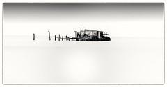 Fishing Hut, Venice (Andy J Newman) Tags: italy venice d810 fishing fishinghut hut longexposure nikon sea silverefex vulturelabs provinceofvenice it