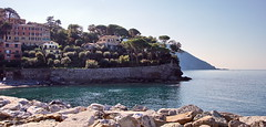 The Mediterranean Sea (Yuri Rapoport) Tags: 2016 recco liguria italy