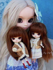 Emilly, Lucille e Myriam (♪Bell♫) Tags: pullip romantic alice blue groove doll little dal chibi risa rock sweet