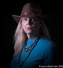 20181231 Turquoise 21657-Edit (Laurie2123) Tags: fujixt2 fujinon56mm laurieturner laurieturnerphotography laurie2123 odc odc2018 ourdailychallenge femaleportrait me offcameraflash portrait selfportrati selfie turquoise