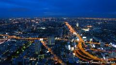 Bangkok by Night - View from Baiyoke Tower II (BeyondTheHill Photography) Tags: bangkok dingdaeng geo:lat=1375460569 geo:lon=10054050475 geotagged makkasan tha thaïlande nuit baiyoketowerii skyscraper thaïlandela