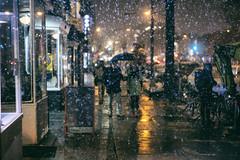14th Street (Mike J Maguire) Tags: snow snowy snowing city urban washingtondc streetphotography helios442