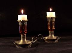 Candles - Scavenger4 - ANSH93 (Maureen Pierre) Tags: ansh93 morocco marrakesh candles glass silver candlestick scavenger4