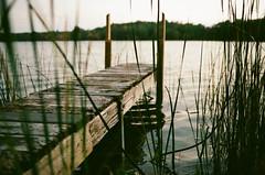 Edit -1-12 (Dane Van) Tags: kodak portra400 canon eos 35mm canadacreekranch ccr atlantamichigan michigan lakegeneva dock sunset film analog rebelg 500n 50mm18ii