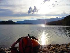 Adventure (emilyjchristensen) Tags: kayak lake britishcolumbia bc water sunnylake rockybeach