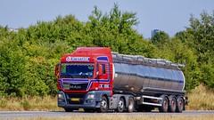 AY32230 (18.07.03, Motorvej 501, Viby J)DSC_4096_Balancer (Lav Ulv) Tags: 254413 man mantgx 26480 e6 euro6 lsintertank leosørensen 6x22 red tanker tankvogn tankwagen tanktruck tankvagn tankbil 2016 truck truckphoto truckspotter traffic trafik verkehr cabover street road strasse vej commercialvehicles erhvervskøretøjer danmark denmark dänemark danishhauliers danskefirmaer danskevognmænd vehicle køretøj aarhus lkw lastbil lastvogn camion vehicule coe danemark danimarca lorry autocarra danoise vrachtwagen motorway autobahn motorvej vibyj highway hiway autostrada trækker hauler zugmaschine tractorunit tractor artic articulated semi sattelzug auflieger trailer sattelschlepper vogntog oplegger sættevogn