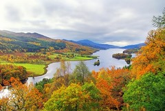 The Queens View (eric robb niven) Tags: ericrobbniven scotland dundee pitlochry landscape autumn cycling